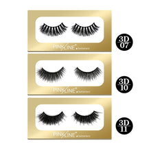 Load image into Gallery viewer, Pinkline 3D Eyelashes Pack of 3  (PL3D-07,10,11)