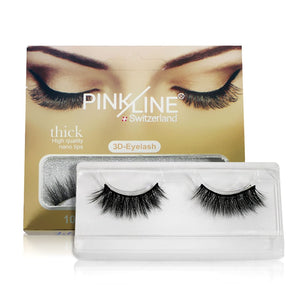 Pinkline 3D Eyelashes Pack of 2 (PL3D-1,5)
