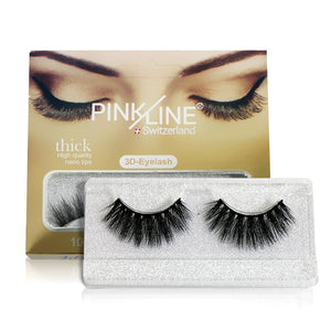 Pinkline 3D Eyelashes Pack of 6 (PL3D-12,13,14,15,19,20)