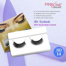 Load image into Gallery viewer, Pinkline 3D Eyelashes Pack of 2 (PL3D-14,15)