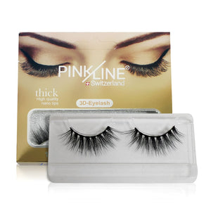 Pinkline 3D Eyelashes Pack of 2 (PL3D-20,23)
