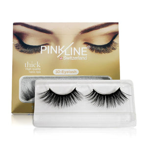 Pinkline 3D Eyelashes Pack of 3  (PL3D-27,30,35)