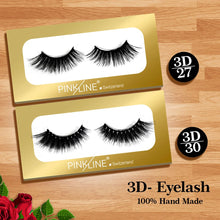 Load image into Gallery viewer, Pinkline 3D Eyelashes Pack of 2 (PL3D-27,30)