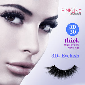 Pinkline 3D Eyelashes Pack of 2 (PL3D-27,30)