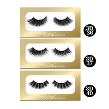 Load image into Gallery viewer, Pinkline 3D Eyelashes Pack of 3  (PL3D-36,37,40)
