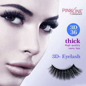 Pinkline 3D Eyelashes 3D-36