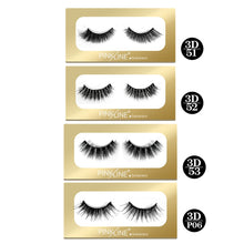 Load image into Gallery viewer, Pinkline 3D Eyelashes Pack of 4 (PL3D-51,52,53,P06)