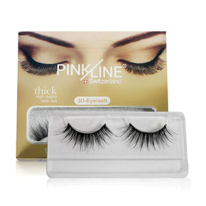 Pinkline 3D Eyelashes Pack of 4 (PL3D-51,52,53,P06)