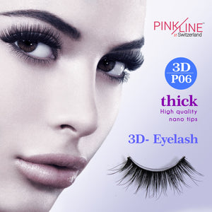 Pinkline 3D Eyelashes Pack of 2 (PL3D-54,P06)