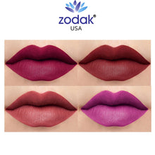 Load image into Gallery viewer, Zodak Like flaming diamonds  Matte Lipstick combo set of 4