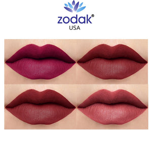 Zodak Intense Matte lipstick combo set of 4