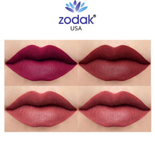 Load image into Gallery viewer, Zodak Heavenly Solutions For Your Lips Matte Lipstick combo set of 4