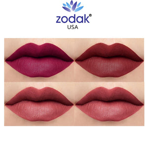 Zodak Heavenly Solutions For Your Lips Matte Lipstick combo set of 4