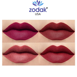 Zodak Radiant and smooth Matte Lipstick combo set of 4