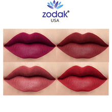Load image into Gallery viewer, Zodak Twist Glide Shine Matte Lipstick combo set of 4