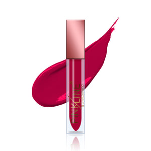 Pinkline MATTE Lip Gloss Lipstick Antique Red 4g