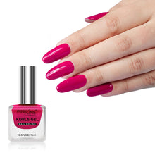 Load image into Gallery viewer, Pink Line Kurls Gel Matte Nail Polish Kurls 10 Candy Pink 15ml