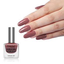 Load image into Gallery viewer, Pink Line Kurls Gel Matte Nail Polish Kurls 18 15ml