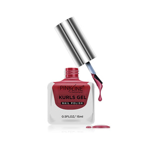 Pink Line Kurls Gel Matte Nail Polish Kurls 23 Royal 15ml