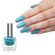 Load image into Gallery viewer, Pink Line Kurls Gel Matte Nail Polish Kurls 34 15ml