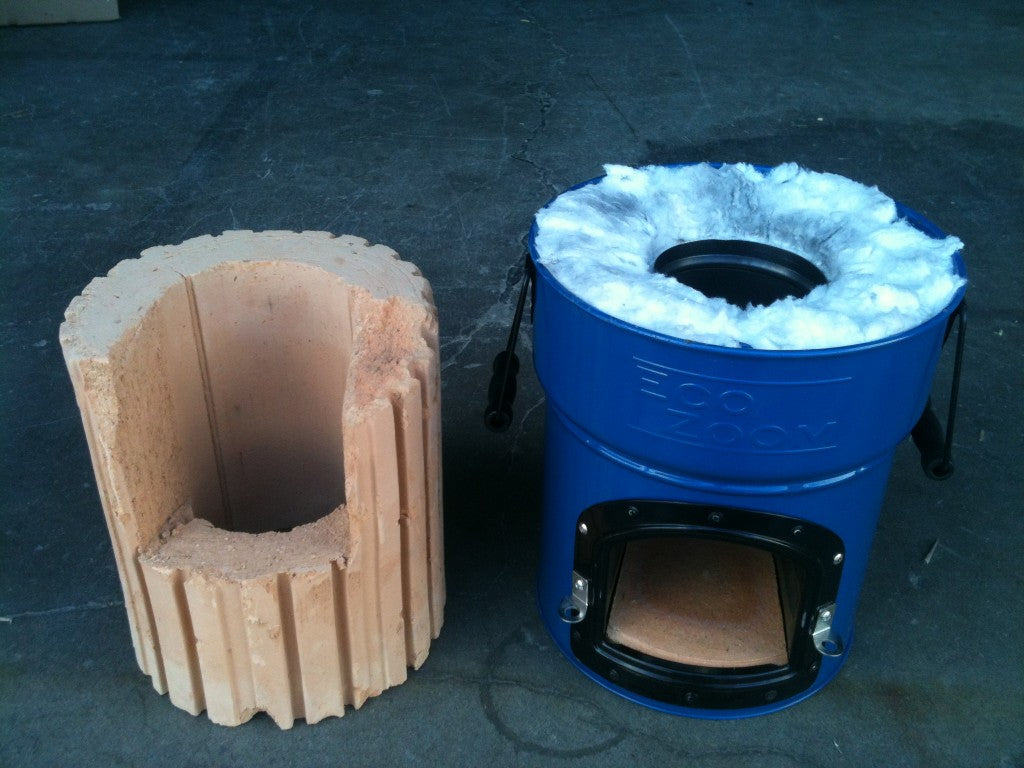 Lite Vs Ceramic Rocket Stove Insulation Ecozoom
