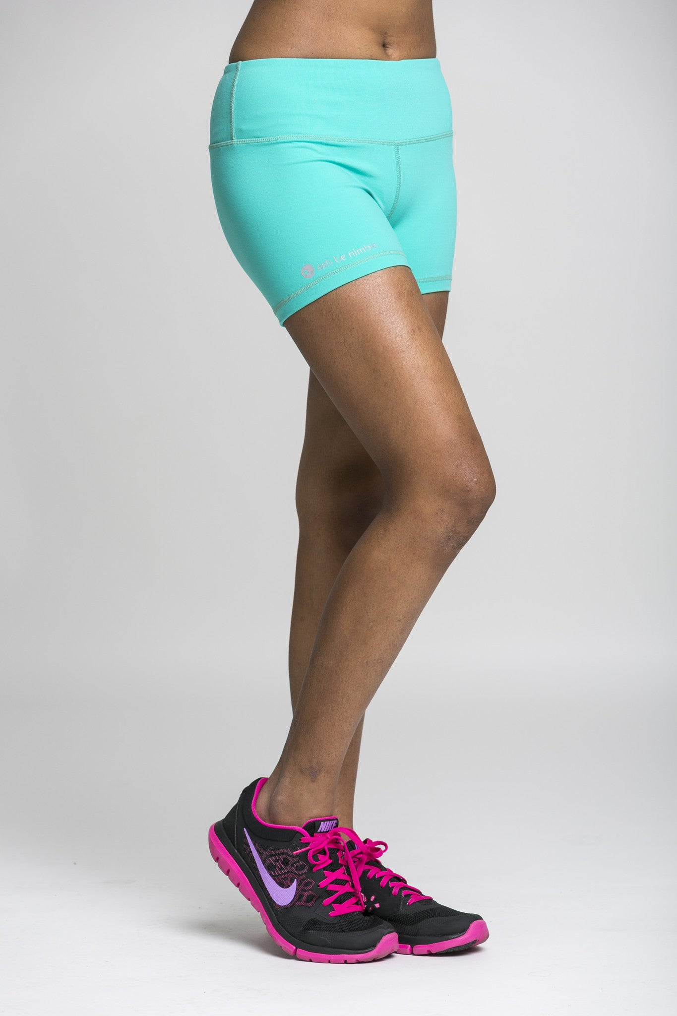 rush hour shorts - teal green