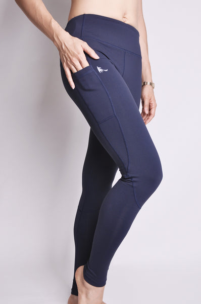 adeline full leggings - navy