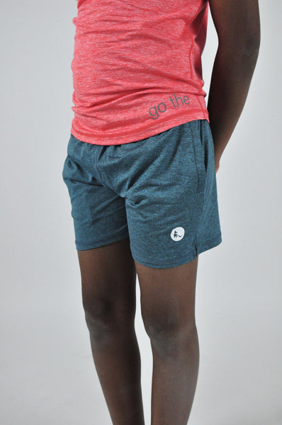 kid's avid shorts - moonstone