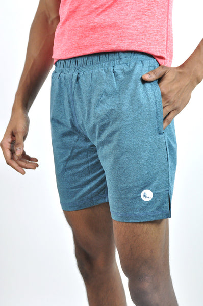 men's avid shorts - moonstone