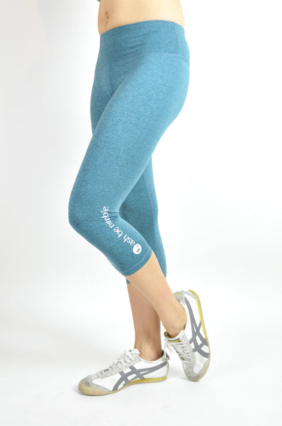 avid 3/4 leggings - moonstone
