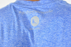 athletic nimble tee in azurite