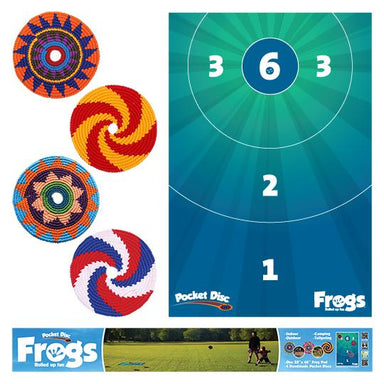 Frogs Game Kit-Pocket Disc-Pocket-Disc