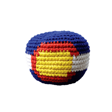 Footbag - Colorado Flag-Pocket Disc-Pocket-Disc