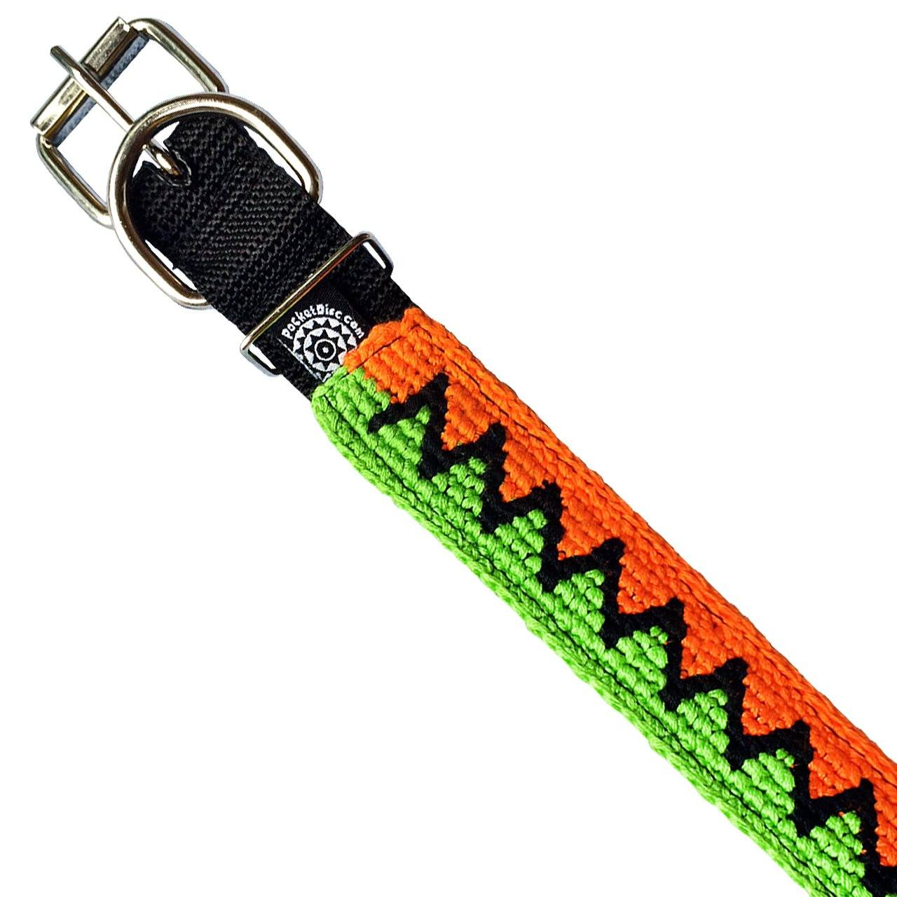 Pet Collar GREEN/BLACK/ORANGE