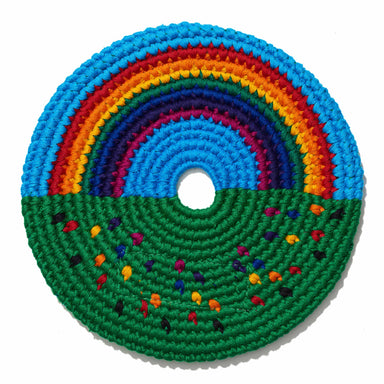 Sports Disc Rainbow and Flowers-Buena Onda Experience-Pocket-Disc