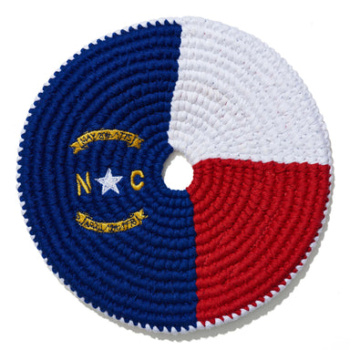 North Carolina Flag Disc-Buena Onda Experience