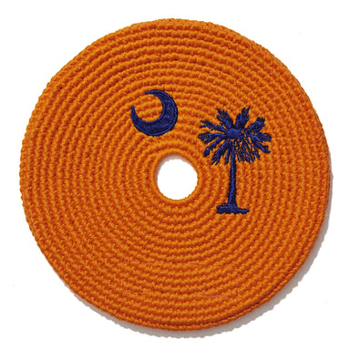 South Carolina Clemson Flag Disc-Buena Onda Experience