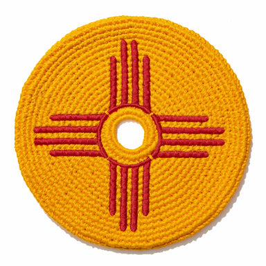 New Mexico Zia Symbol Flag Disc-Flag Disc-Buena Onda Experience-Pocket-Disc