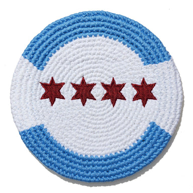 Chicago Flag Disc-Flag Disc-Buena Onda Experience-Pocket-Disc
