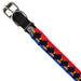 Pet Collar RED/BLACK/BLUE-Buena Onda Experience