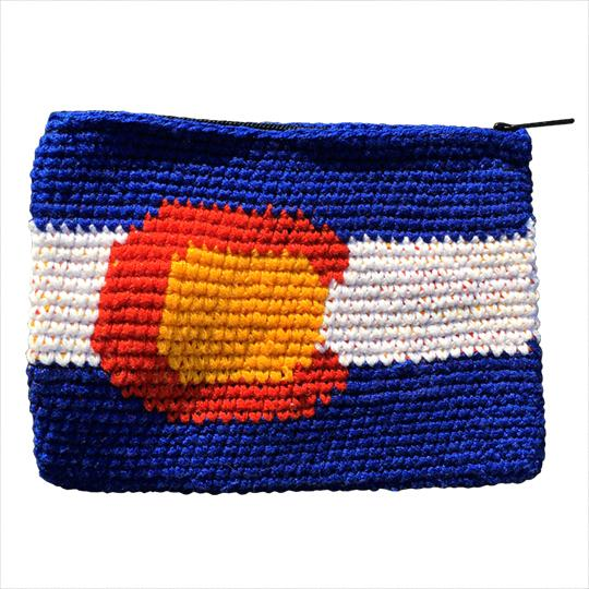 Pouch - Colorado Flag-Pocket Disc-Pocket-Disc