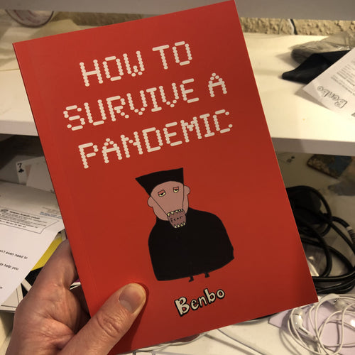 Book: HOW TO SURVIVE A PANDEMIC - Benbo Global Megastore