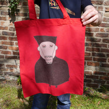 Load image into Gallery viewer, Bag: Doktor Fear Red Tote - Sample - Benbo Global Megastore
