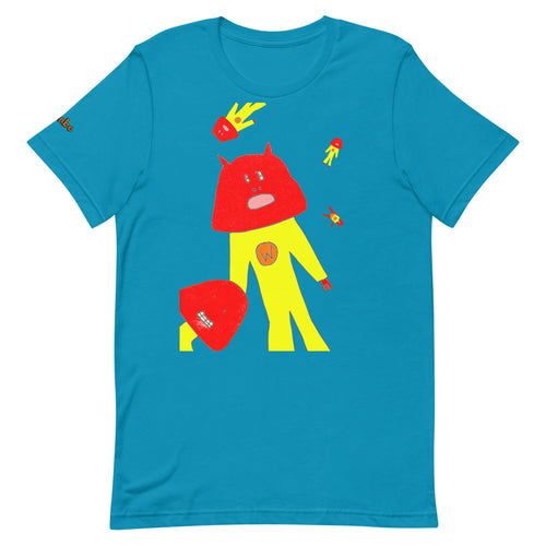 T-Shirt: Captain Wassock Floating In Space - Benbo Global Megastore