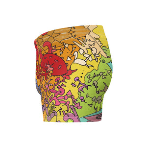 Boxer Briefs: Art Gallery All-Over Print - Benbo Global Megastore