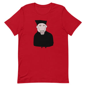 T-Shirt: Doktor Fear - Premium, Unisex (Red) - Benbo Global Megastore