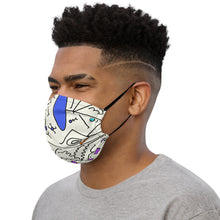 Load image into Gallery viewer, Face Mask: Celebrate All Bodies (Blue/Pink) - Benbo Global Megastore