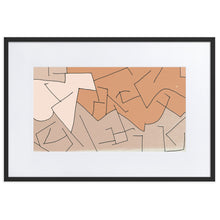Load image into Gallery viewer, Framed Print: Doktor Fear's Wall Art (Brown) - Benbo Global Megastore