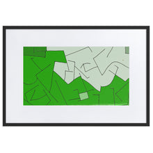 Load image into Gallery viewer, Framed Print: Doktor Fear's Wall Art (Green) - Benbo Global Megastore