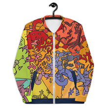 Load image into Gallery viewer, Bomber Jacket: Art Gallery Custom All-Over Print - Benbo Global Megastore
